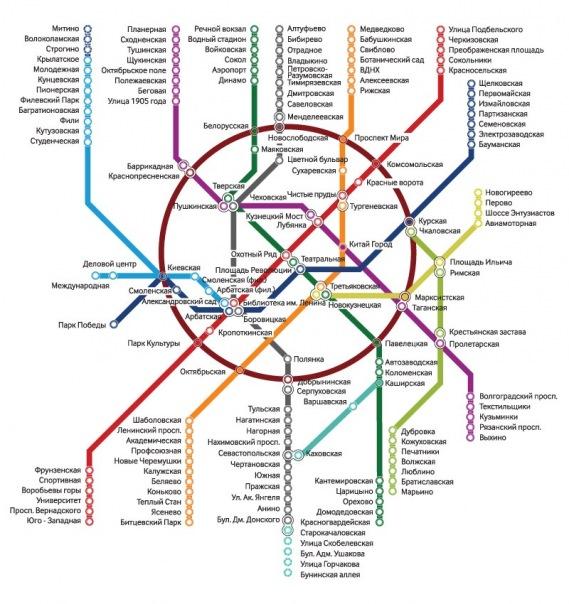 Схема метро | ВКонтакте
