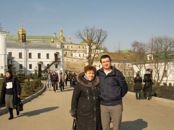 Лавра, Киев. С мамой