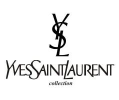 Логотип бренда Yves Saint Laurent.