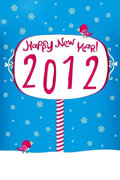 Новый год и Рождество - векторные фоны.  Vectors - New Year and Christmas.