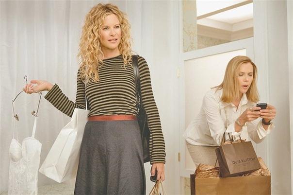Meg Ryan og Annette Bening i The Women.  Актеры обои и фото на рабочий...