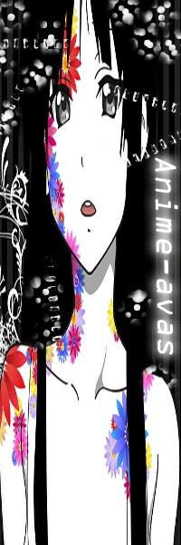 красивые аниме картинки на аву: