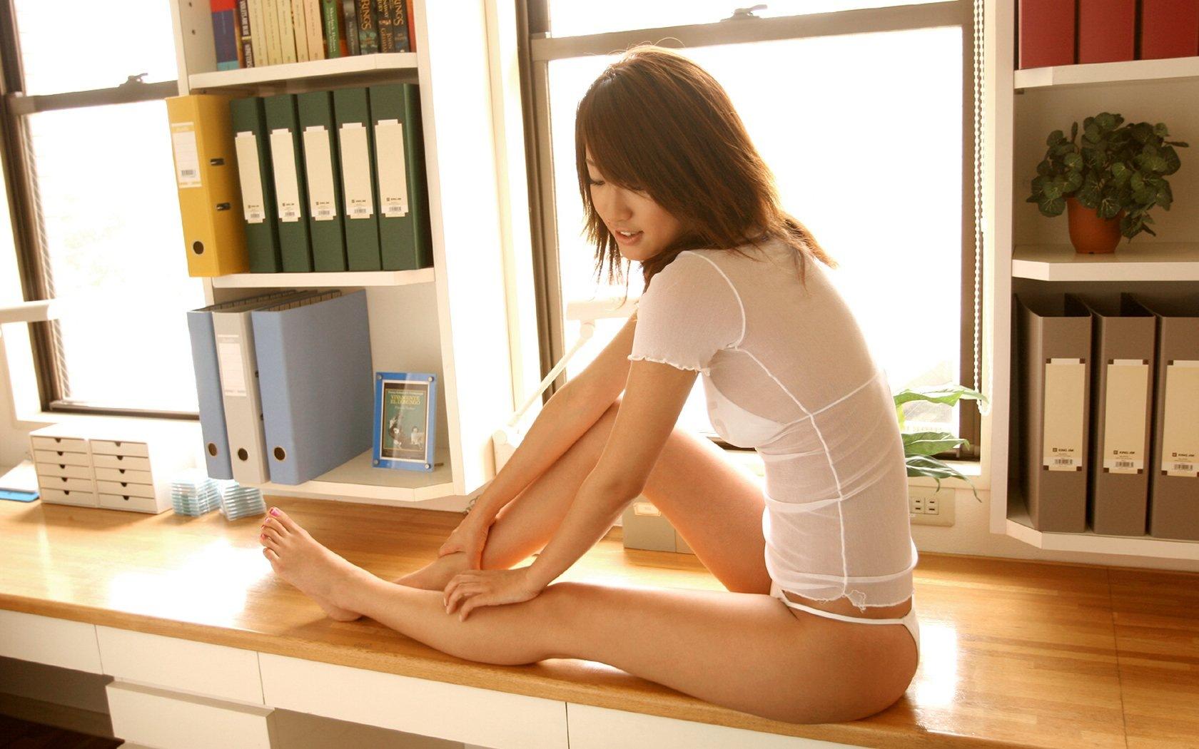 Секс в офисе японки 3 фотография