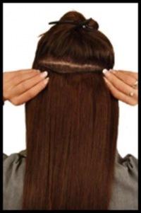 Дешевые волосы на заколках почтой
