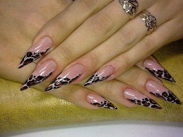 внутренний дизайн ногтей: