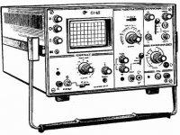 Предназначен для визуального наблюдения формы электрических сигналов и измерения их параметров.  0 - 35 Мгц.
