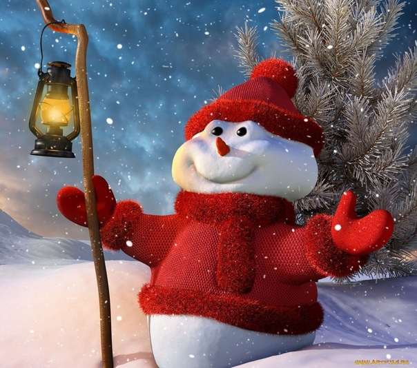 Снеговик )