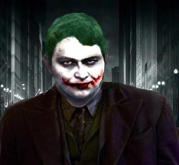 Превращаем человека в Джокера из Готем-Сити -> Demiart