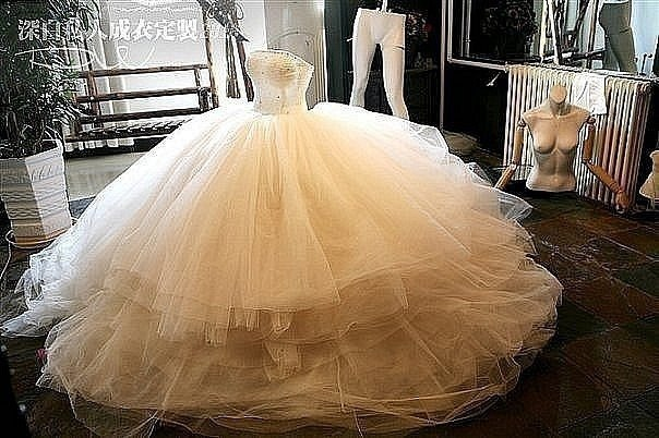 Пышные красивые свадебные платья