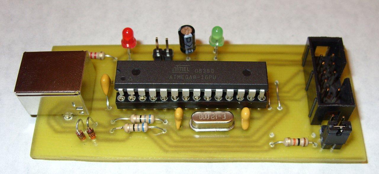 USBASP by vGamBIT (easyelectronix pcb)