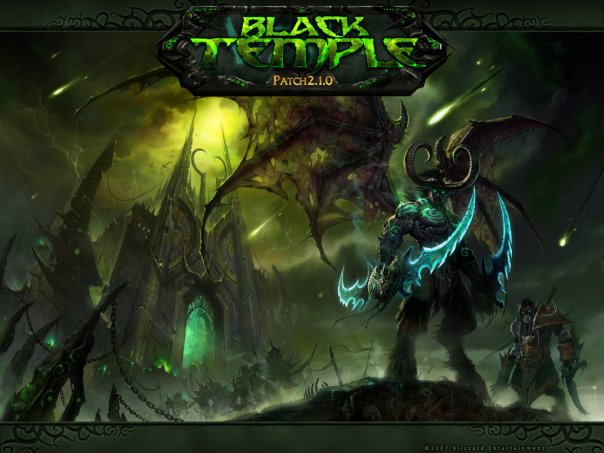 World of Warcraft: Black Temple Patch 2.1.0 обои. обои World of Warcraft: B
