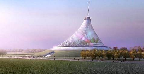 Зловещее место Астана в Казахстане