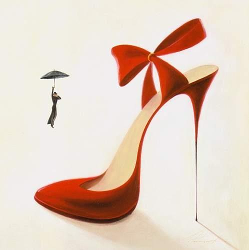 Почему мужчин возбуждают высокие каблуки.