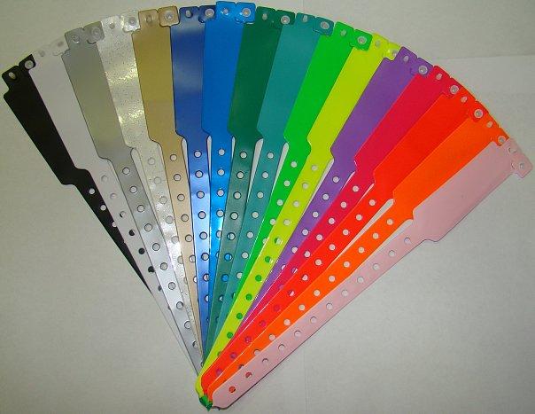 Бумажные браслеты для клубов