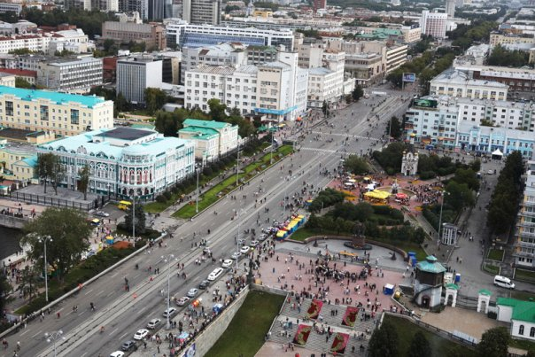 Мэрия опубликовала схему перекрытий движения в День города.
