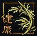 Бамбук - символ здоровья, долголетия и счастья.  Наличие такой картины в доме поможет Вам обрести отличное настроение...