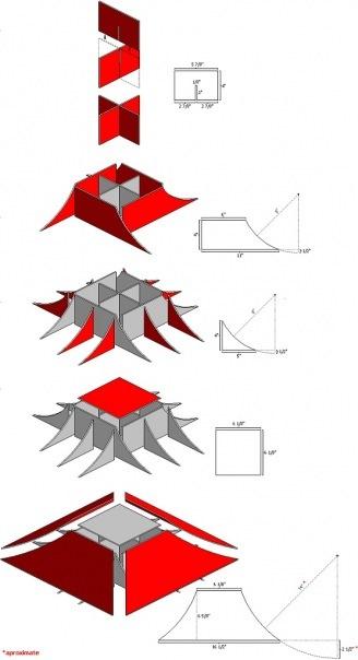 Как сделать фингер bmx из бумаги
