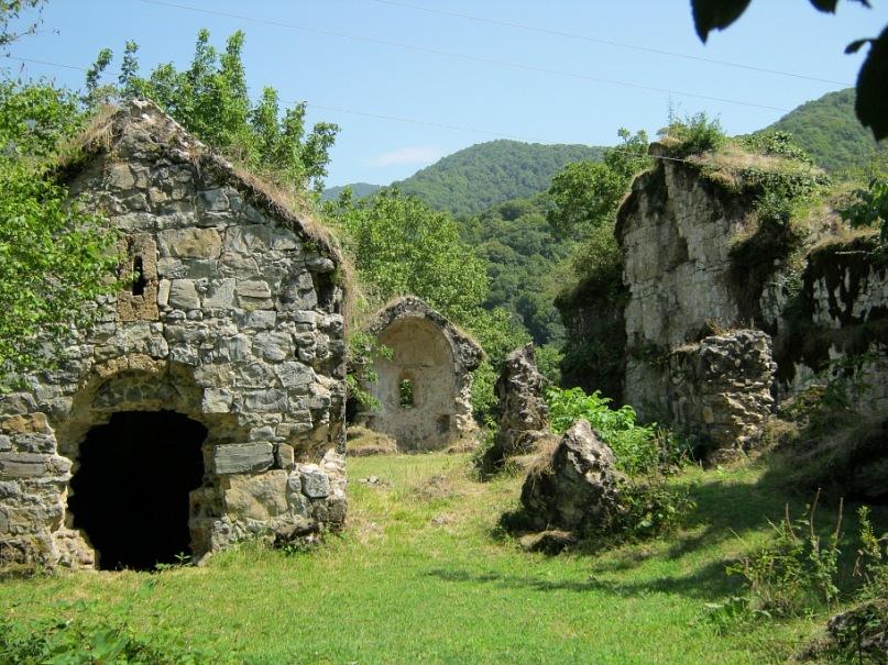 древний албанский храмовый комплекс (в Азербайджане)