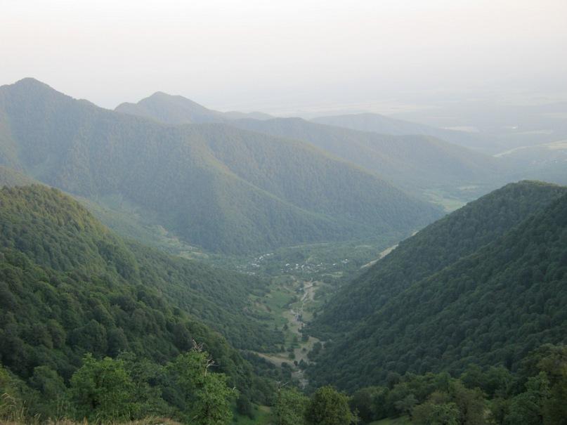 Поймали в горах Азербайджана
