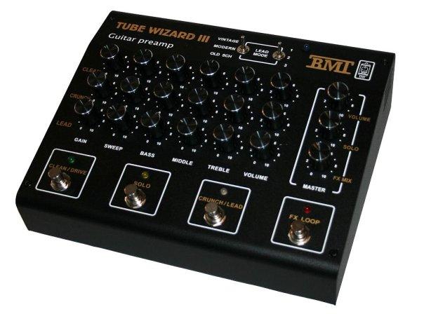 Обзор гитарного преампа BMT TUBE WIZARD III