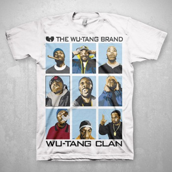 Wu-Tang Clan, Wu Brand USA Import T Shirt.