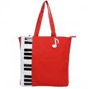 B02007 Красная сумка актуального фасона с лакированным покрытием.