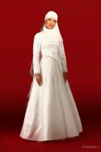 Свадебное мусульманское платье