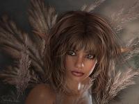 Урок Photoshop Превращение девушки в темного эльфа.