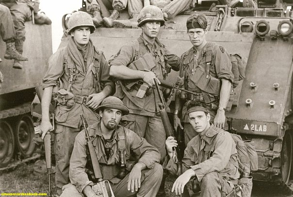 an analysis of the characters in the movie platoon