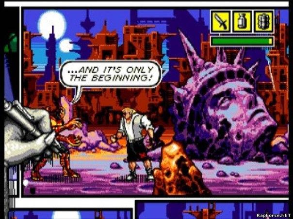 Игры Sega Genesis.