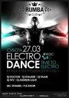 [27 Березня Субота][ELECTRO DANCE][кращі електроденсери СНД у нічному клубі RUMBA]