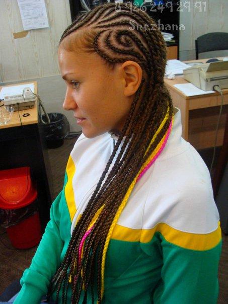 Прически афрокосички зизи 3