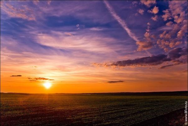 Вдохновляющие картинки закатов...