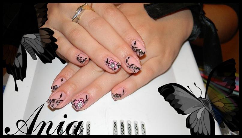 Дизайн ногтей на камуфляже