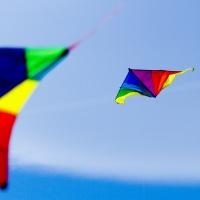Ветер и запуск воздушного змея.