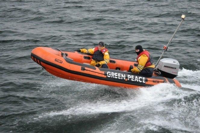 Оранжевая лодка
