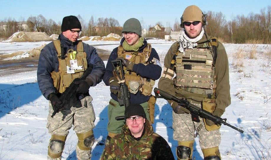 Белорусская молодёжь играет за НАТО