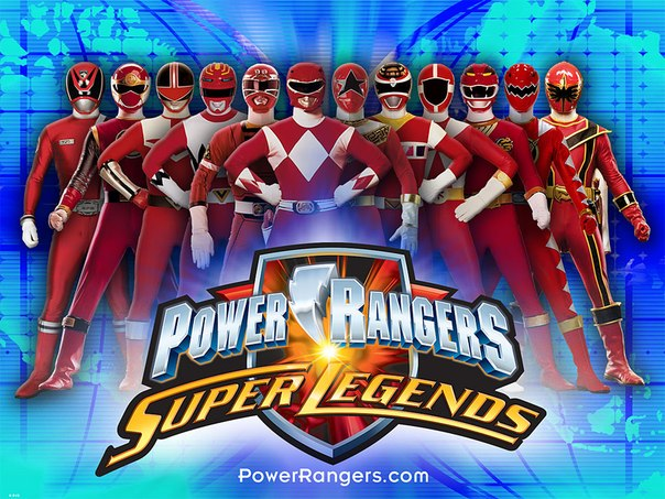 У Батьки на палубе 7: Power rangers: Super legends. Главная.