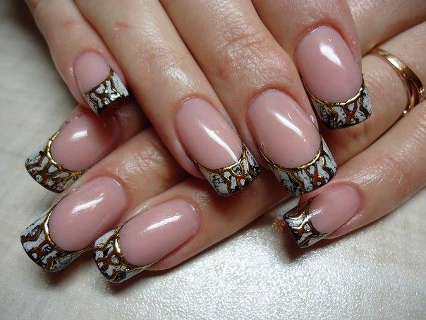 Дизайн ногтей стемпинг фото
