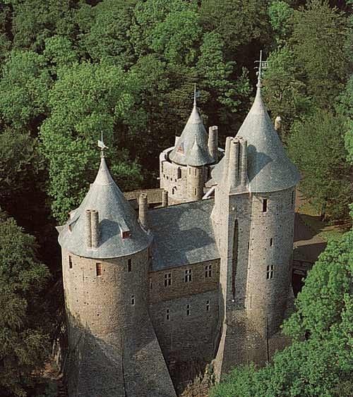 Замок Coch castle X_ce52a7e0