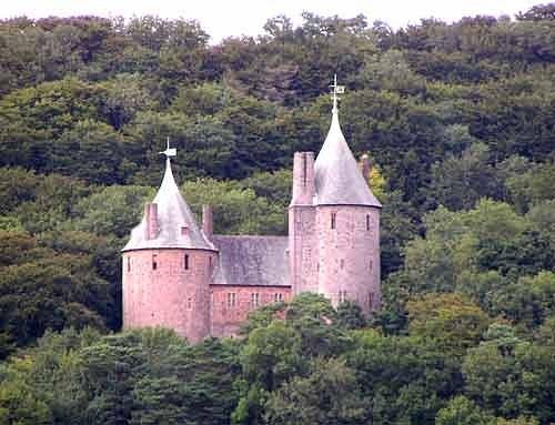 Замок Coch castle X_d5f22f7f