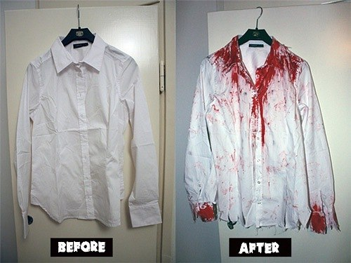 Что делать для того, чтобы стать похожим на настоящего зомби ...
