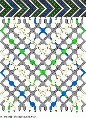 схемы. плетение фенечек с именем схемы.