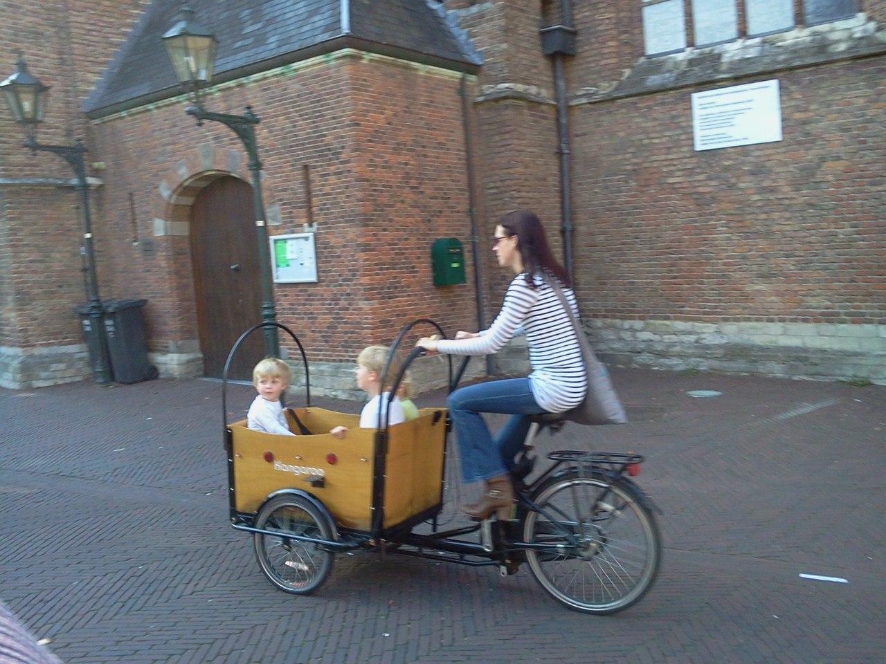 Велосипед с креслом для ребенка спереди фото