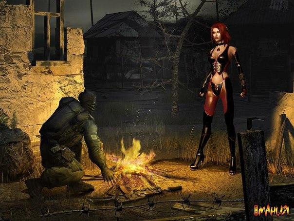 Картинки девушки сталкер