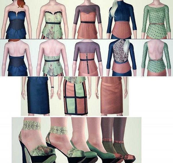 Набор одежды от M.Calero
