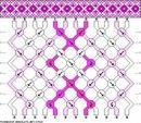 В схеме фенечки 3850 могут встречаться следующие узелки. генератор схем фенечек косым плетением.