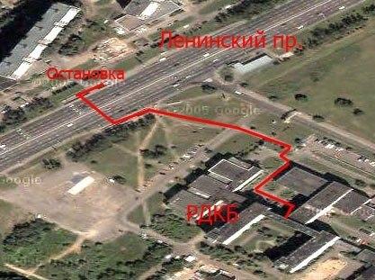 РДКБ - адрес, схема проезда