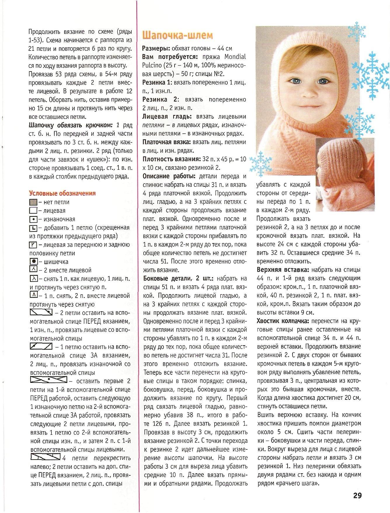 Шапки для новорожденных спицами со схемами