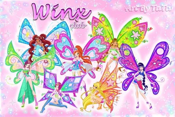 "Журнал Winx ""Волшебство среди нас"" №1!"